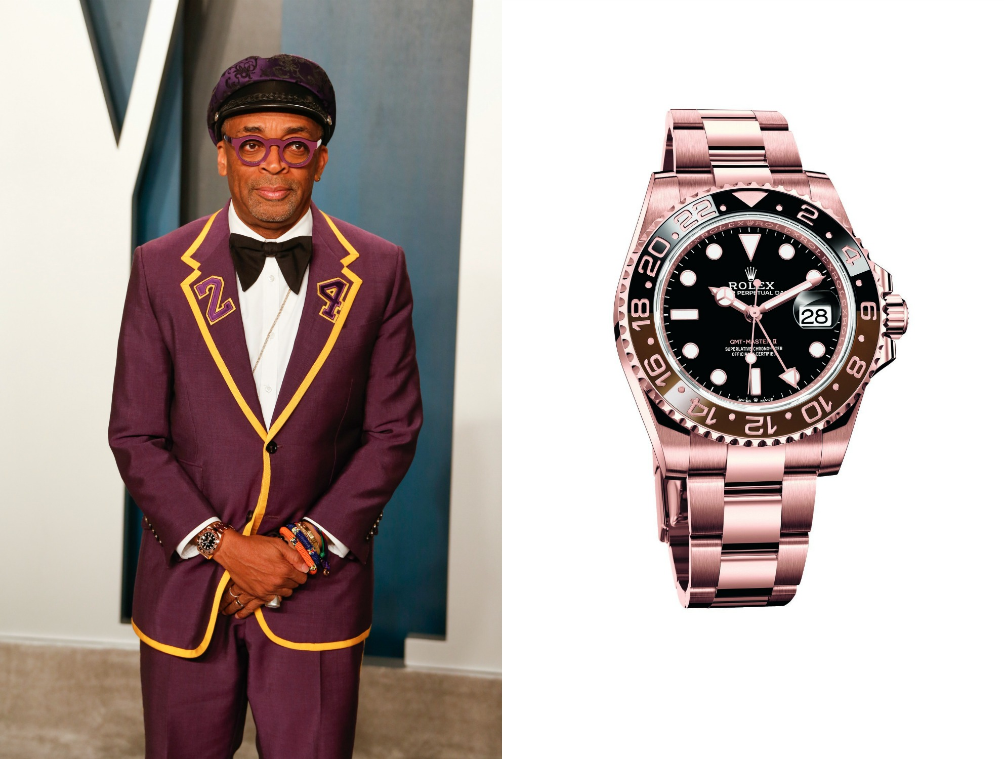 spike lee, GMT-Master II, oscars 2020, horloges