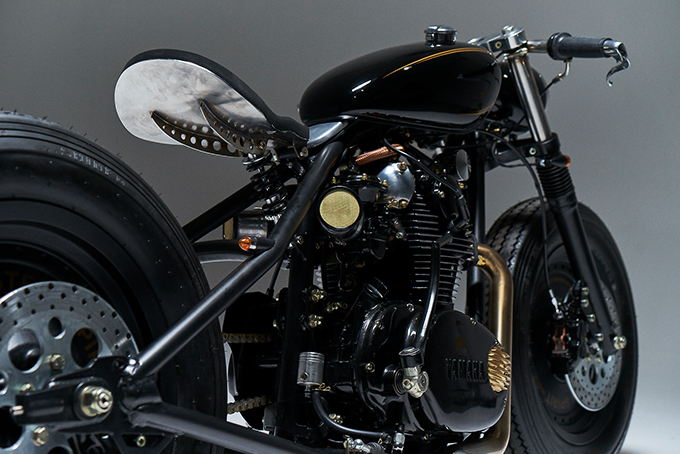 Yamaha XS 650, eastern spirit garage, caferacer, custom bike