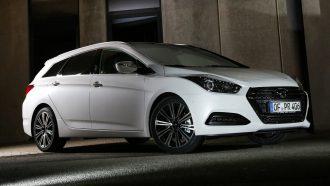 Hyundai i40 front