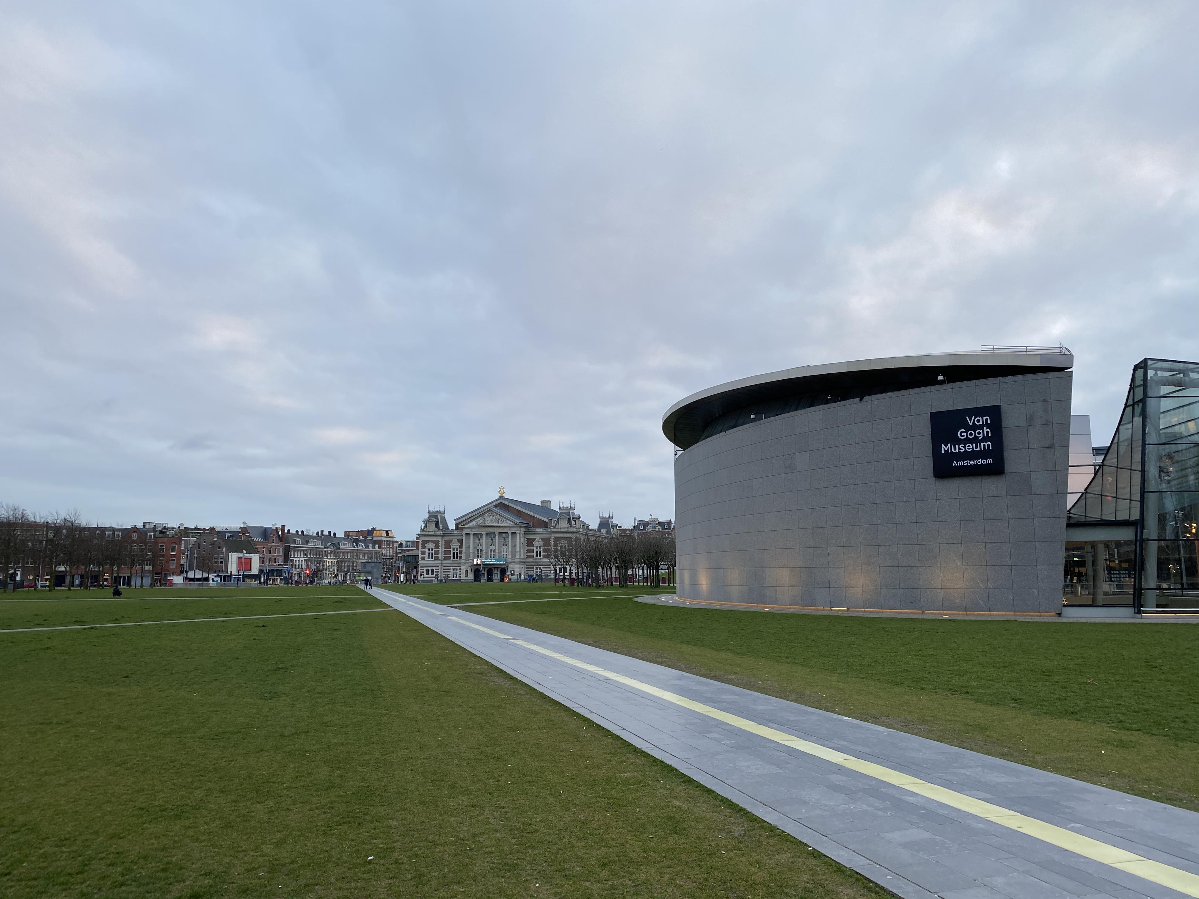 amsterdam, lockdown, museumplein