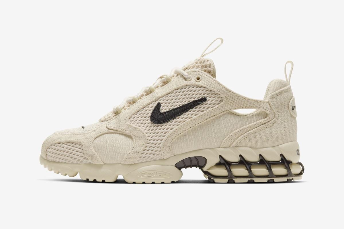 Stussy x Nike Zoom Spiridon Cage 2, sneakers, week 12, b