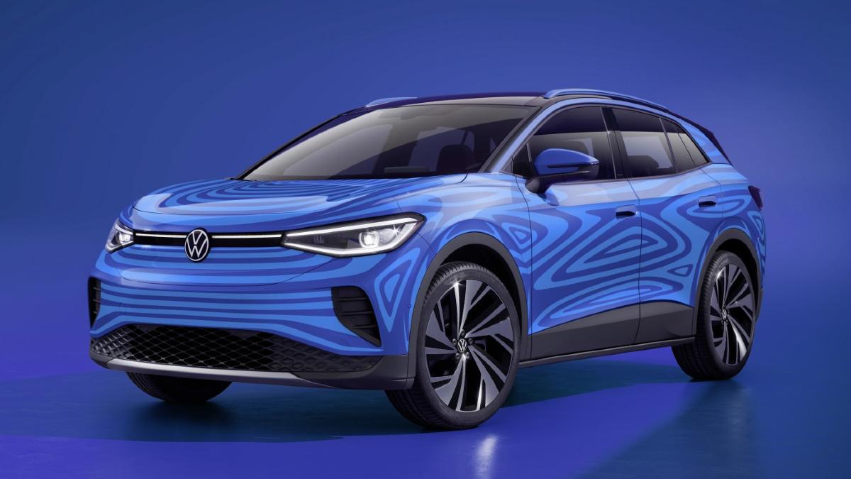 Volskwagen ID.4, elektrische SUV, open space, vw, elektrische auto