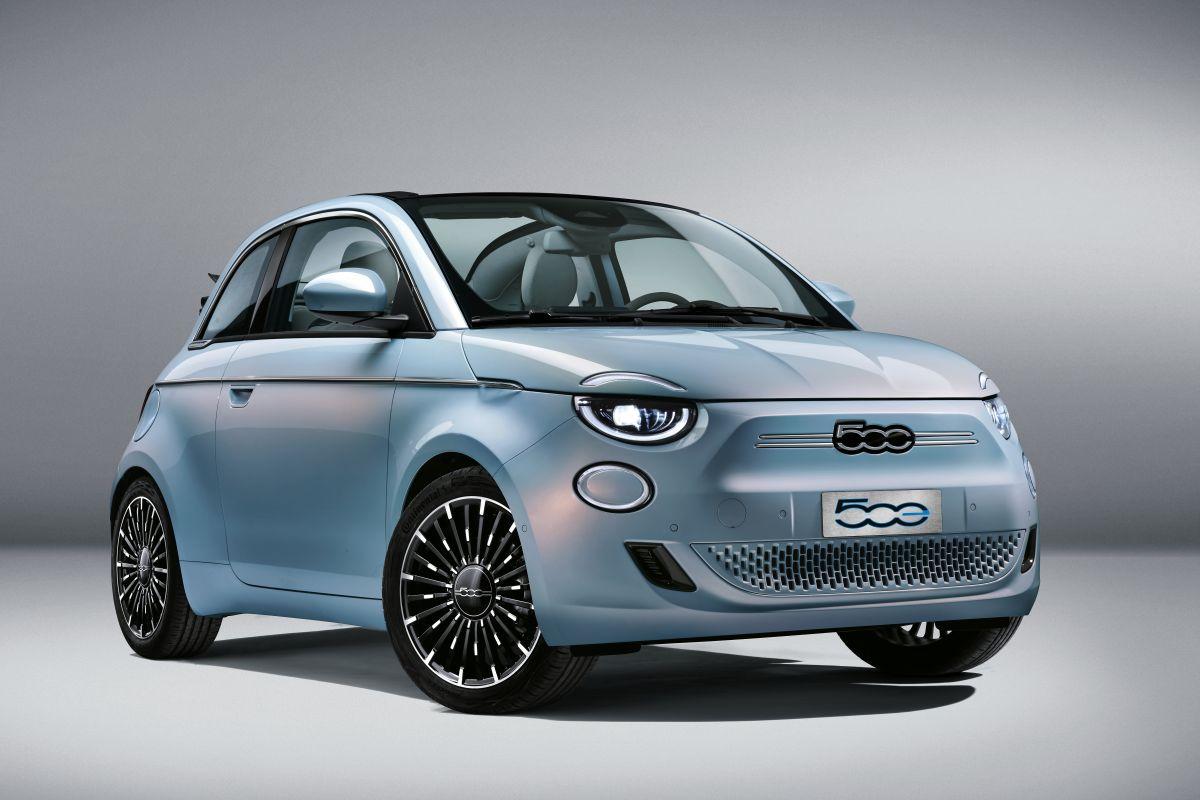 elektrische fiat 500, 500e, elekrische auto, giorgio armani