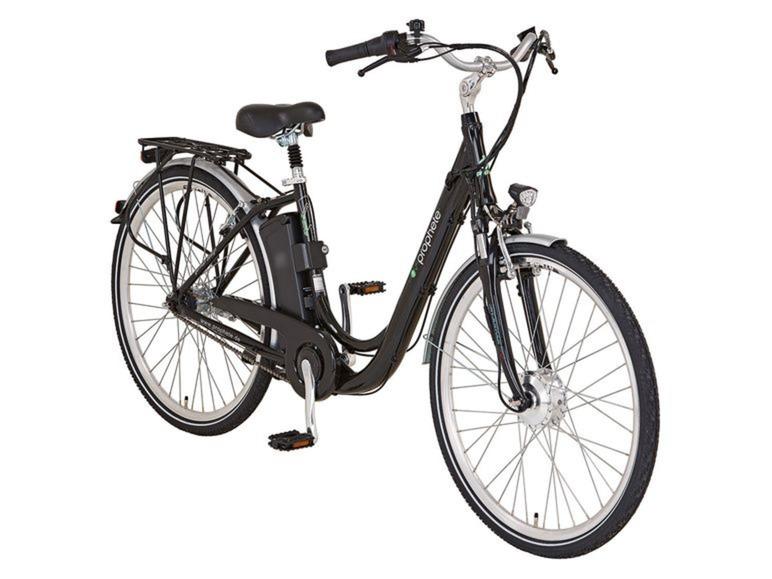 elektrische fiets, lidl, prophete e-bike 28, stunt, aanbieding, korting