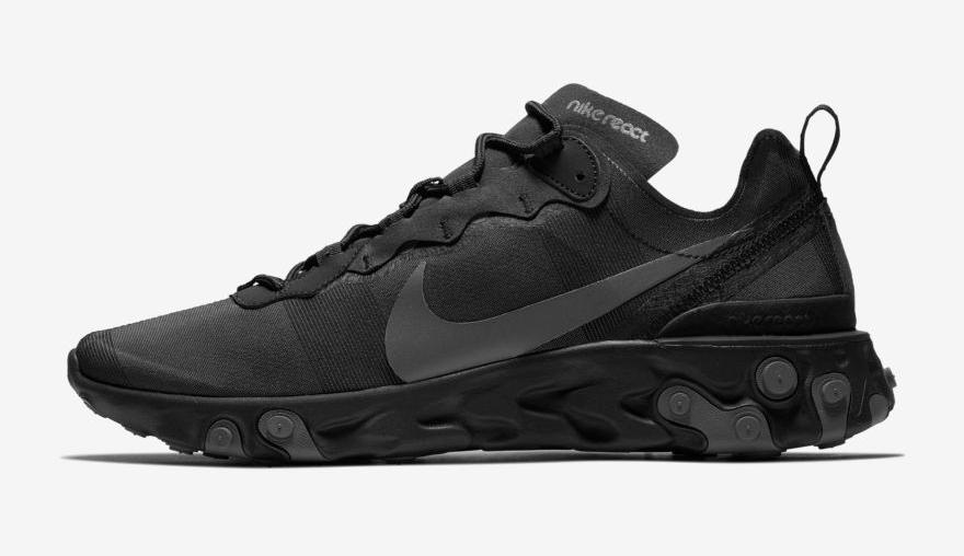 nike sneakers, react element 55, korting, online sale