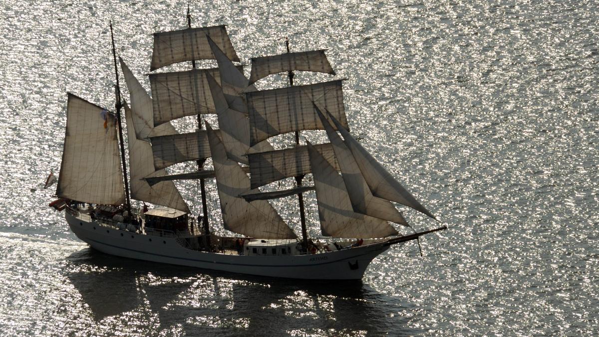 zeilschip, fair ferry, londen, rotterdam, new york, alternatief, vliegen