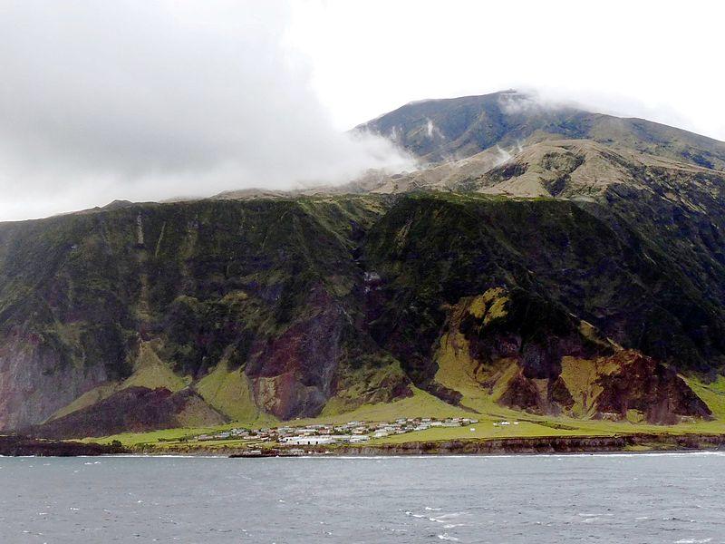 Edinburgh-of-the-Seven-Seas, tristan de cunha, meest afgelegen bewoonde eiland ter wereld, coronavirus