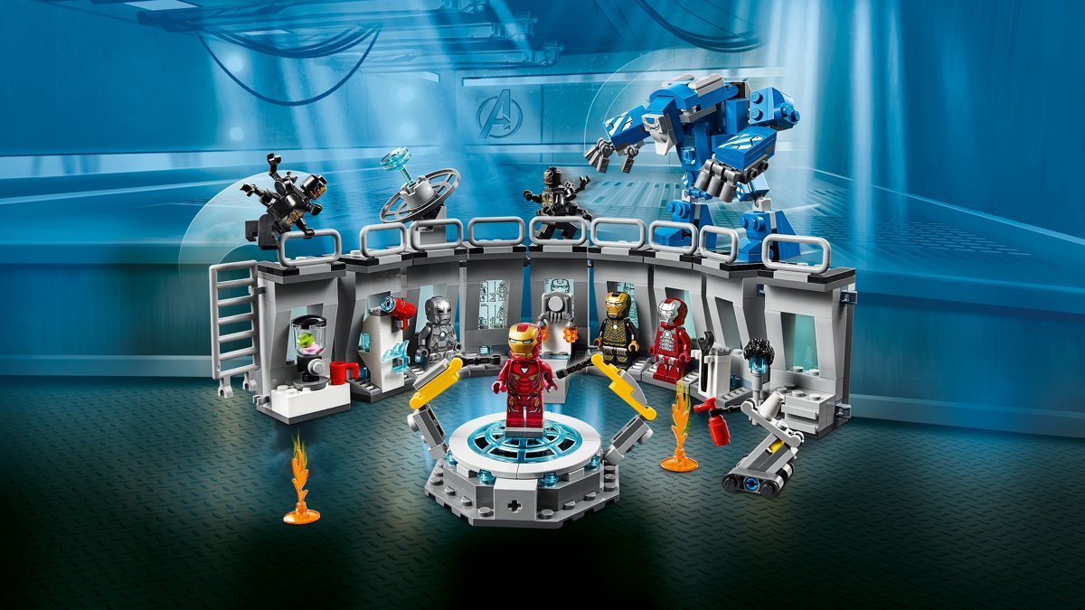 Lego Marvel Avengers Iron Man Lab