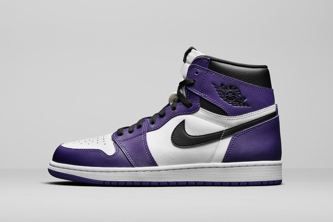 Air Jordan 1, court purple