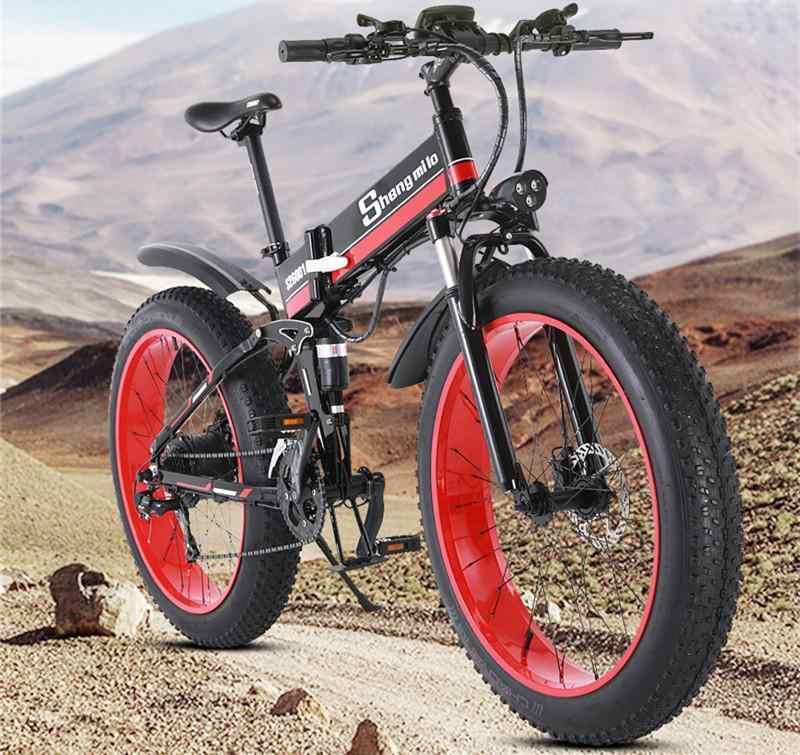 Shengmilo, elektrische fiets, fat tire e-bike, bol com