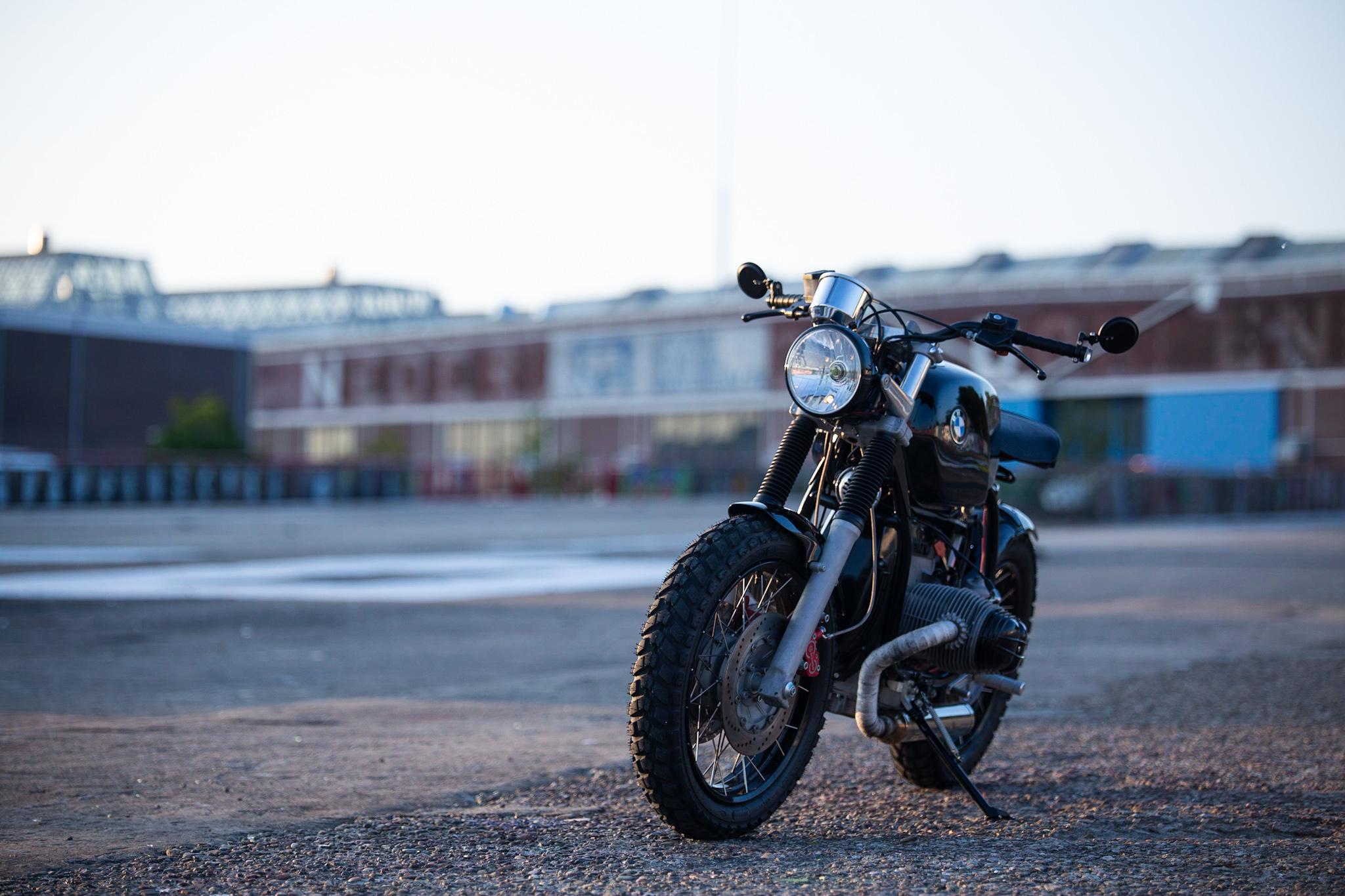 Betaalbare custom bikes BMW special