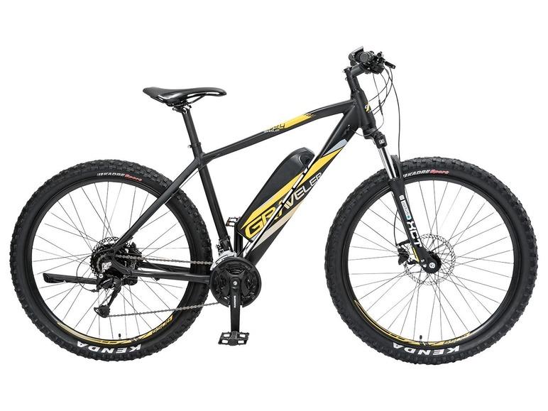 elektrische fiets, Lidl, mountain e-bike, stunt
