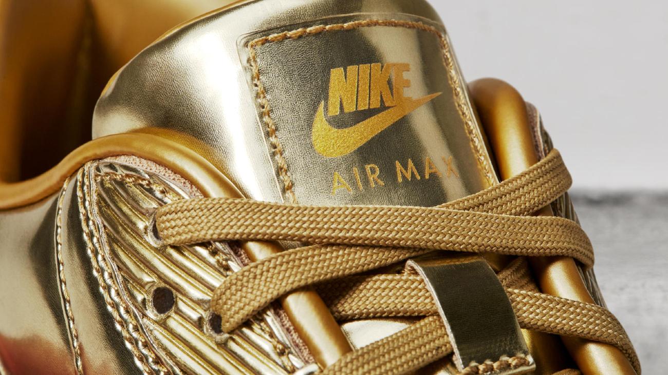 gouden nike air max kopen