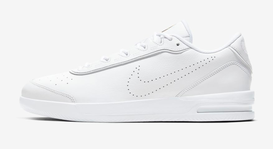 witte sneakers, nike court air max vapor court