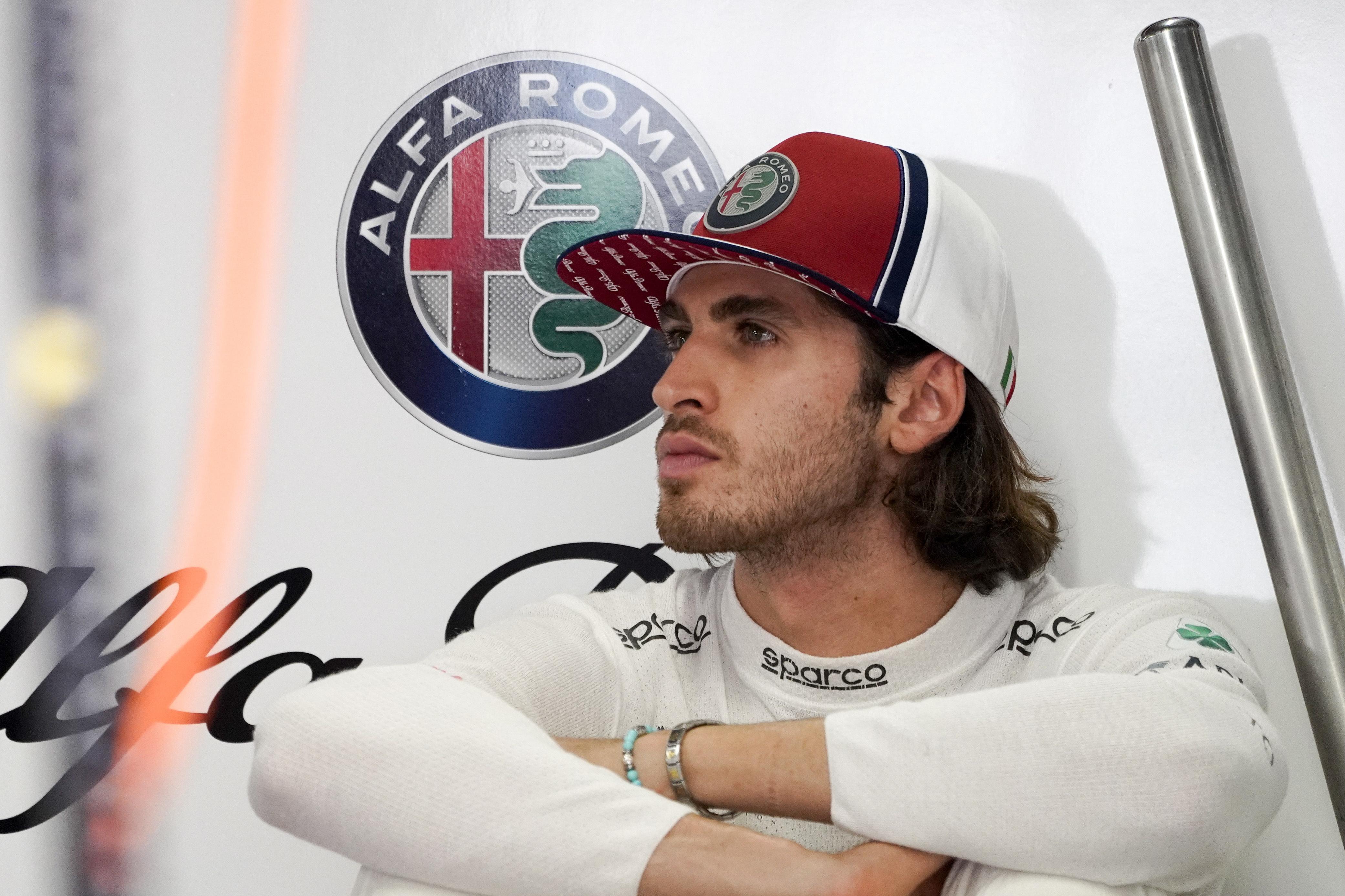 Antonio Giovinazzi opvolger Sebastian Vettel