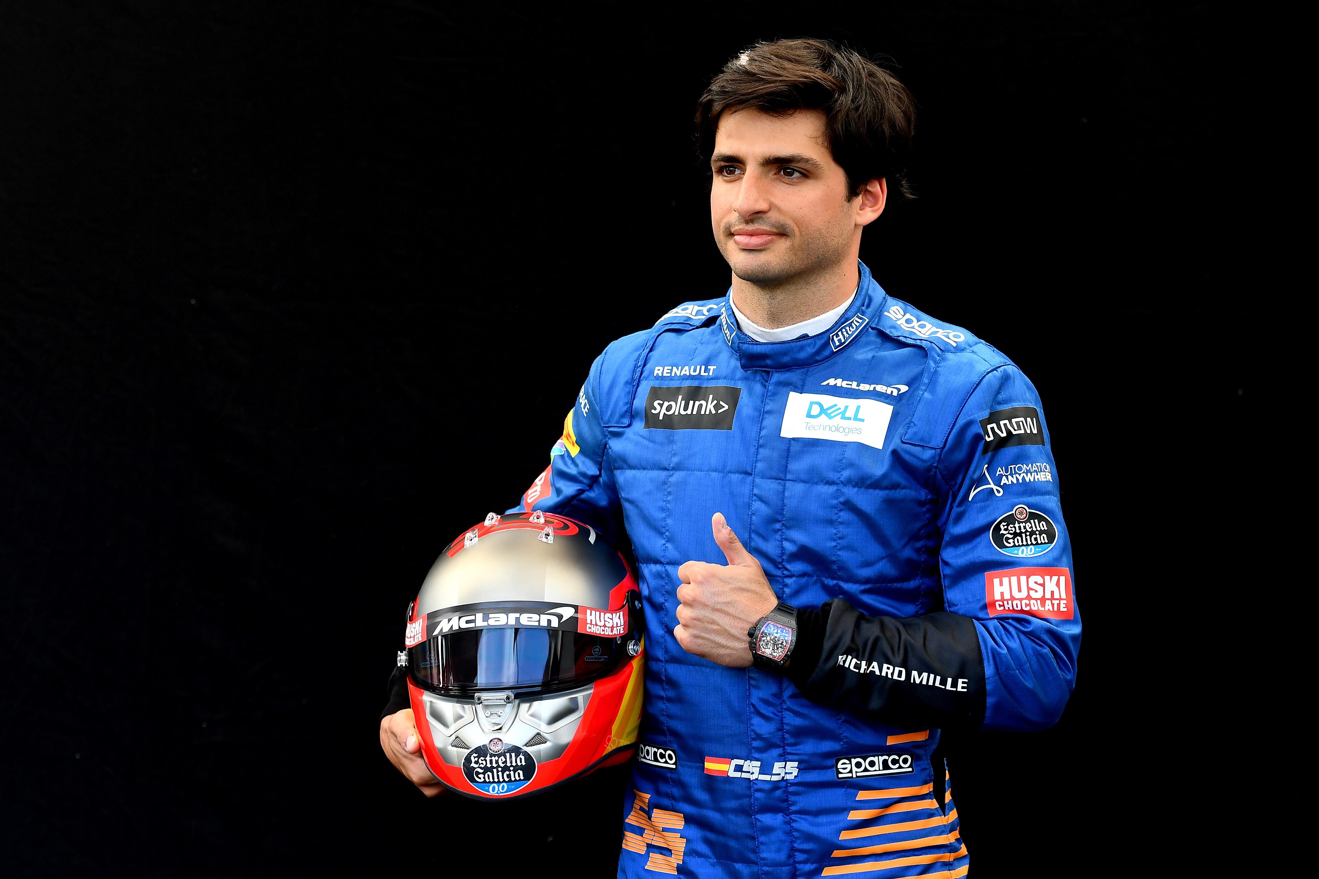 Carlos Sainz naar Ferrari
