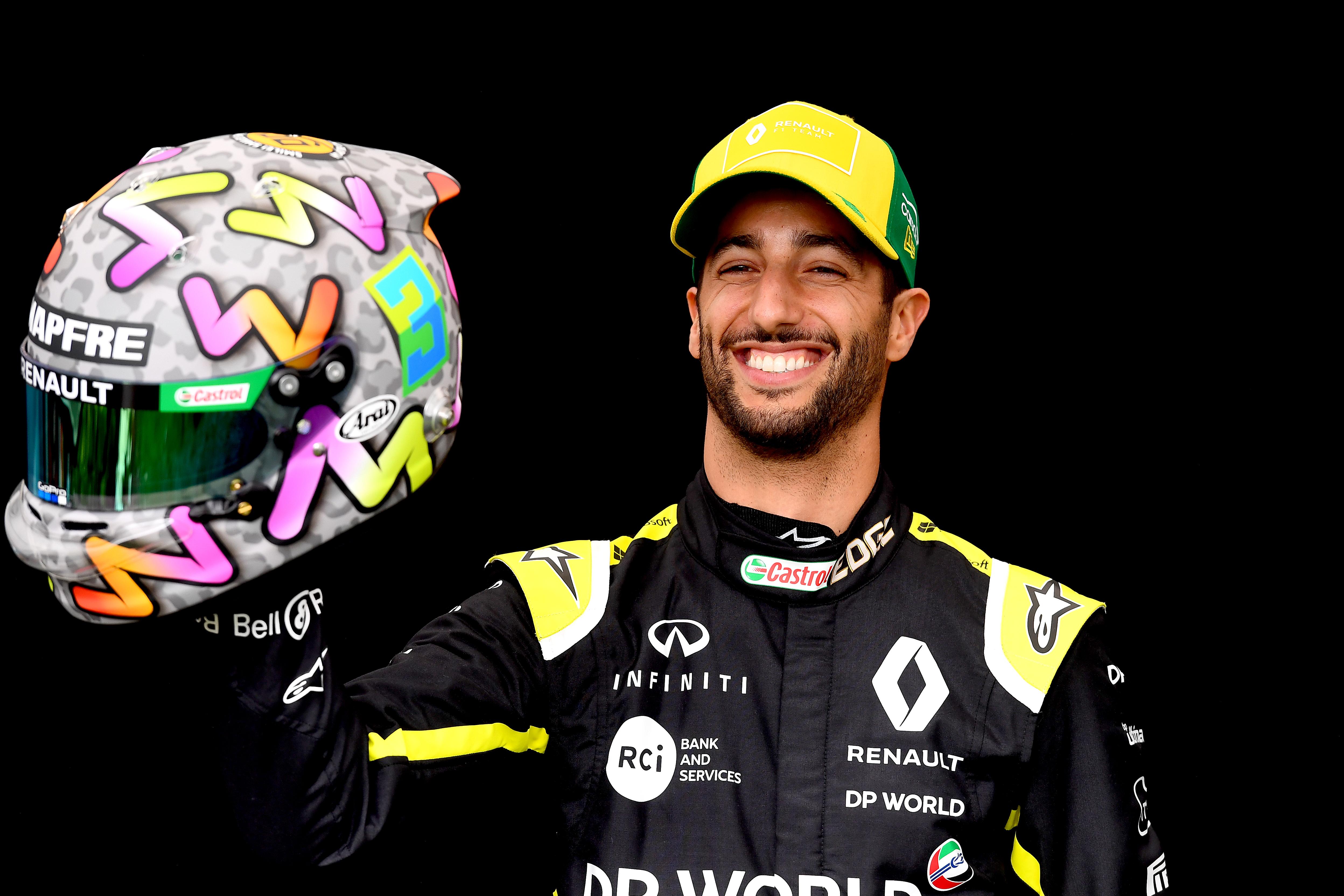 Daniel Ricciardo naar Ferrari