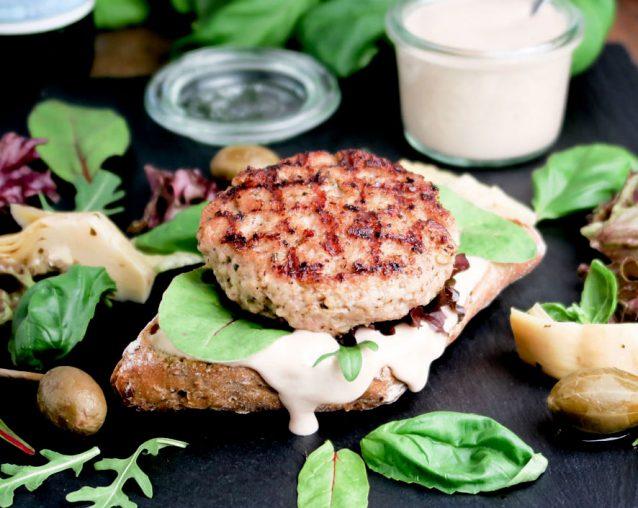vitello tonnato burgers, hamburgers, zelf maken, thuis