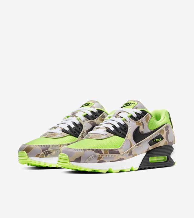 nike air max 90 green camo, sneakers