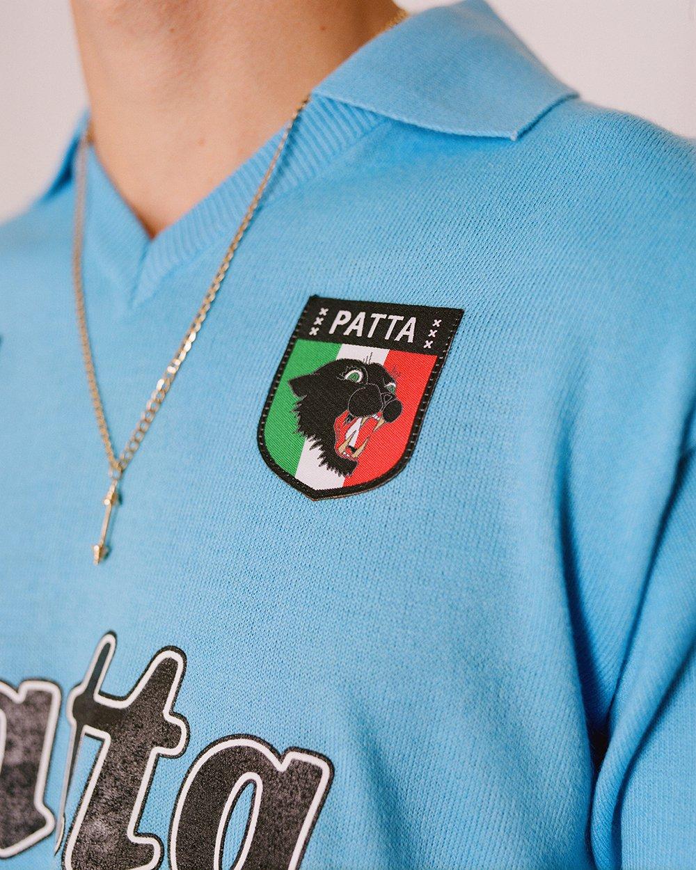 napoli, shirt, maradona, patta, ennerre, nr, retro voetbalshirt