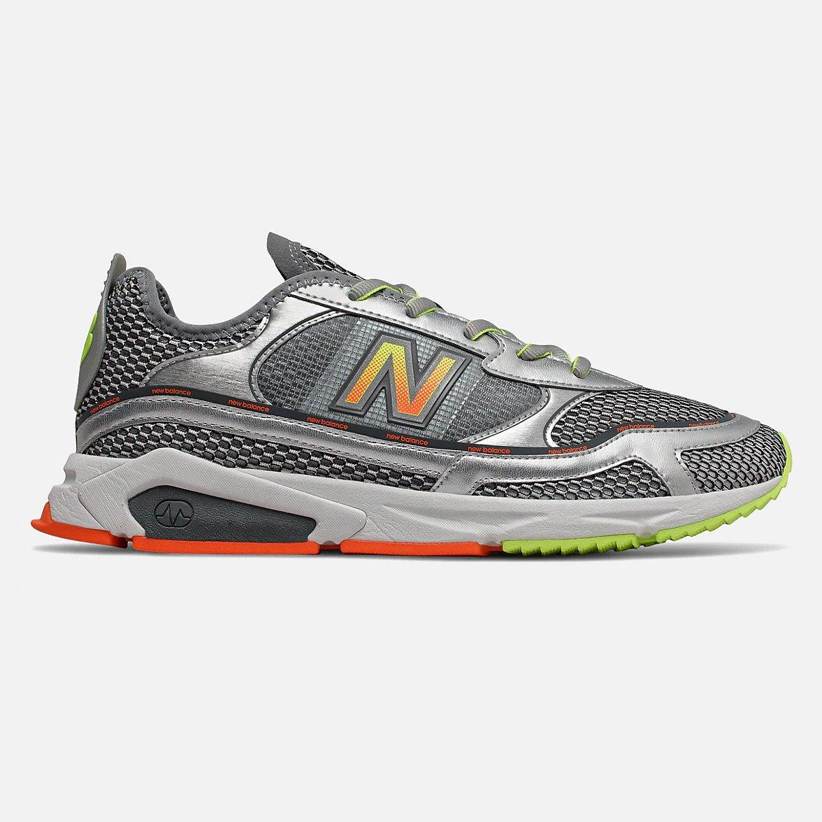 new balance, x racer, silver metallic, korting, sneakers, end of season, sale