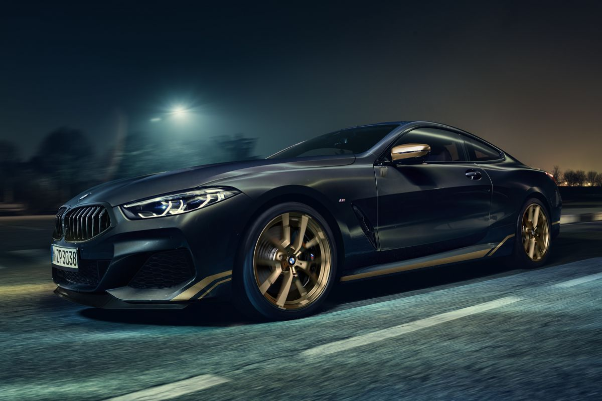 BMW 8-Serie Golden Thunder Edition