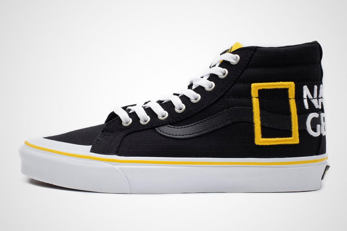 national geographic x vans, sneakers, sstreetwear, collab