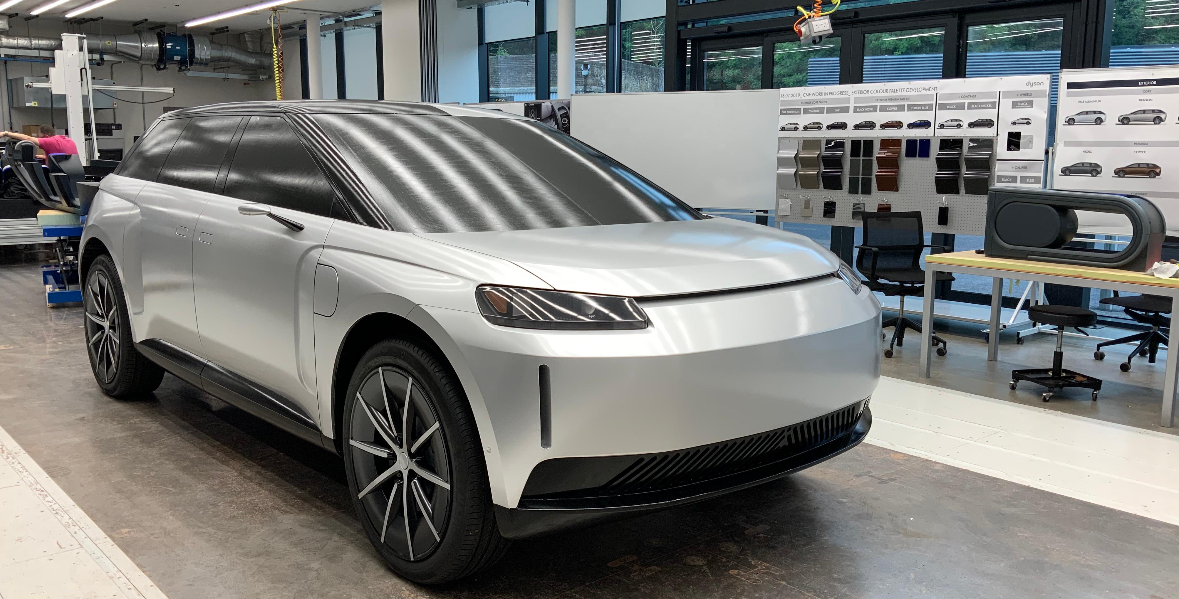 Dyson elektrische auto