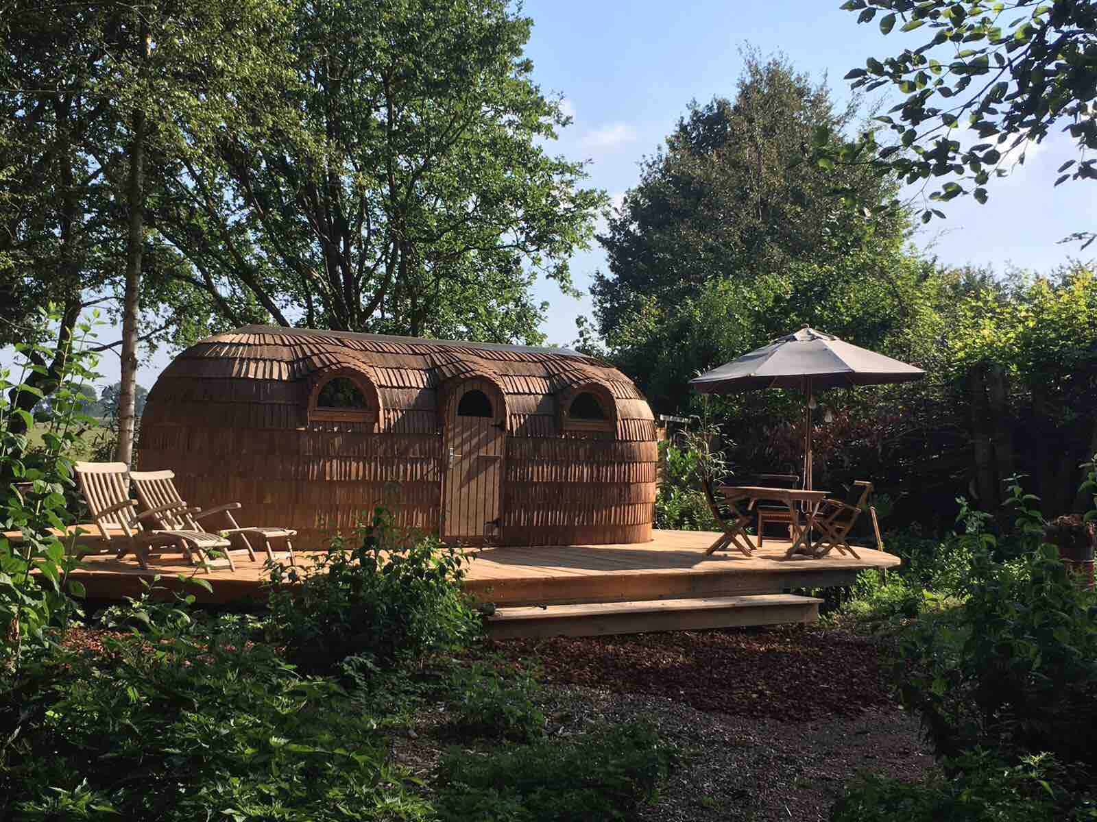 airbnb, finse tiny house, friesland, verborgen parels, vakantie, nederland