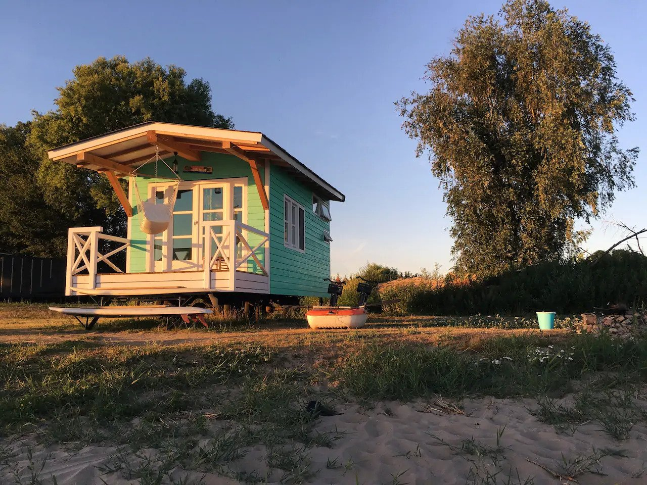 airbnb, tiny house, verborgen parels, nederland, vakantie