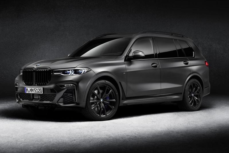 bmw, duister, suv
