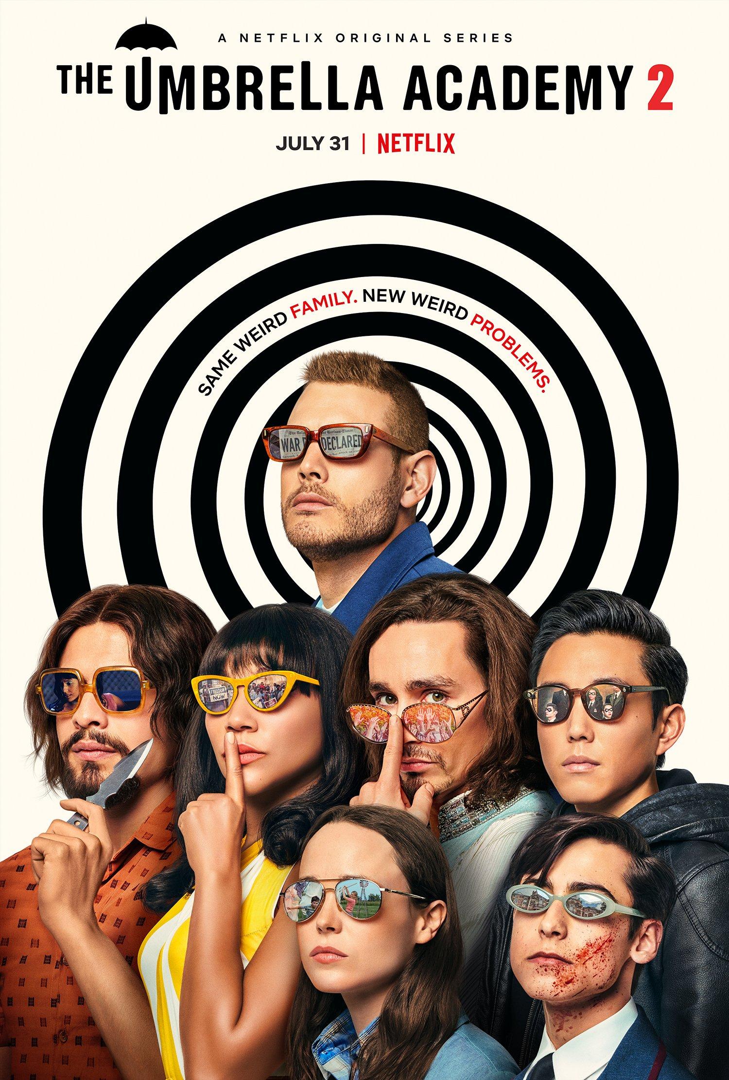 Seizoen 2 The umbrella Academy Netflix