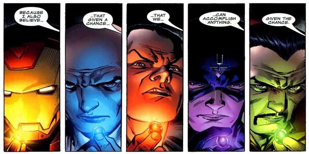 Marvel Illuminati Iron Man
