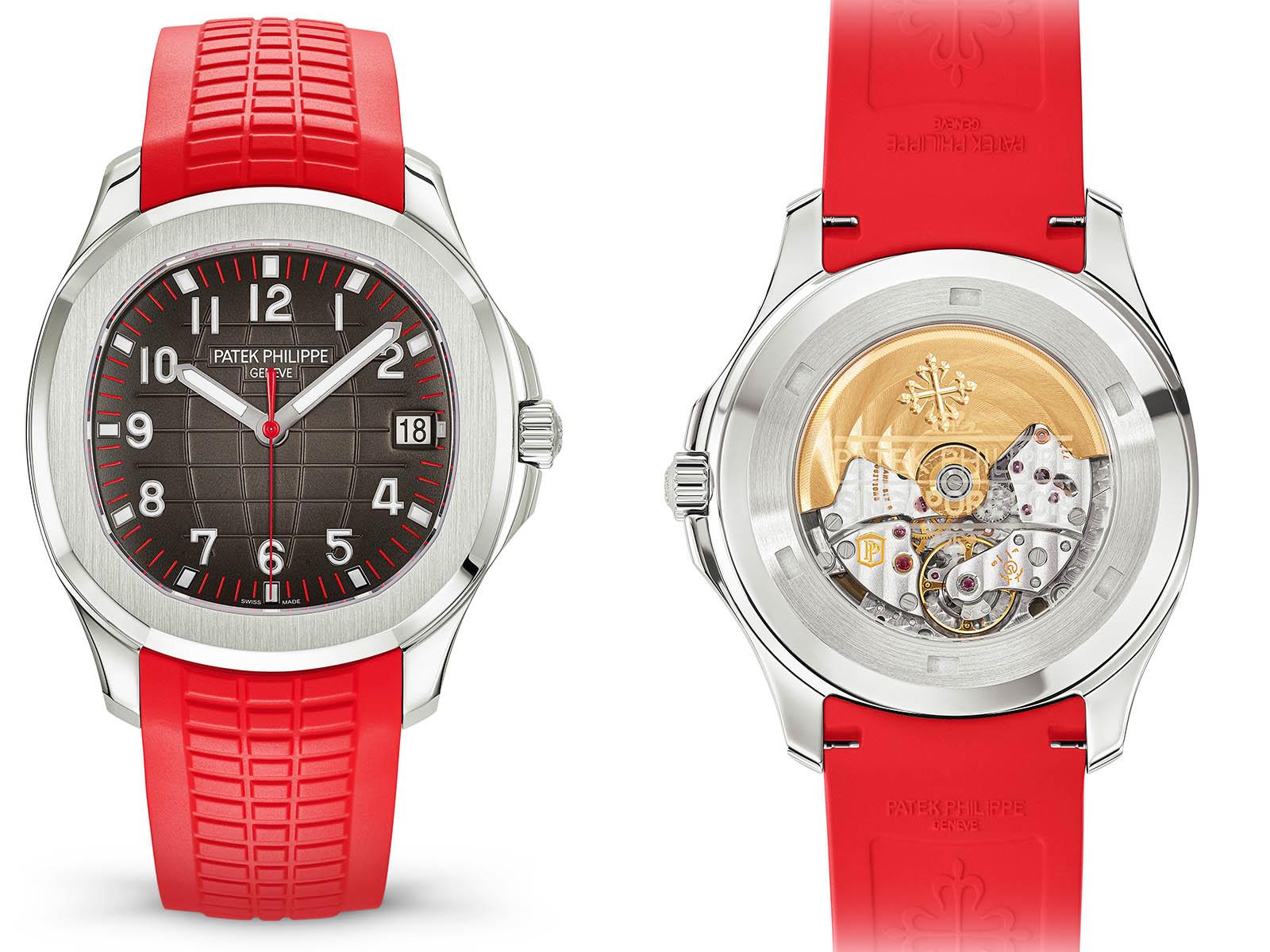 Patek Philippe Aquanaut Singapore 2019 Limited Edition, virgil van dijk, zeldzaam horloge, liverpool, premier league