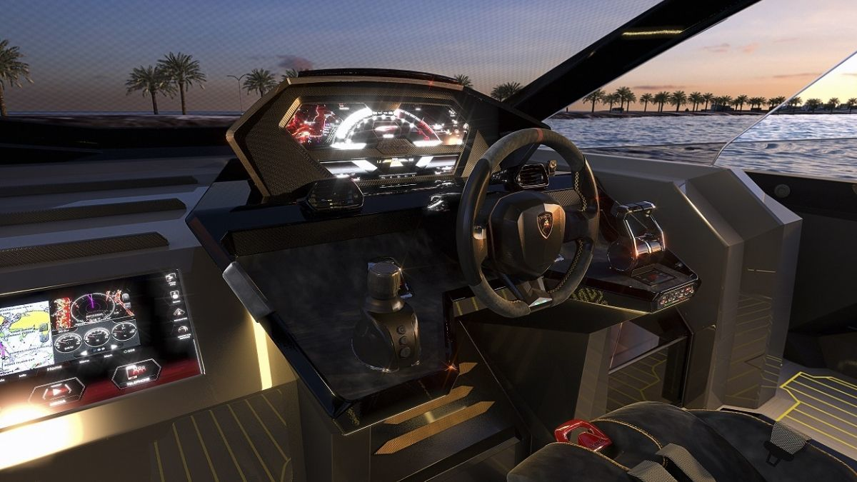 Tecnomar for Lamborghini 63, speedboot, 4000 pk, 2