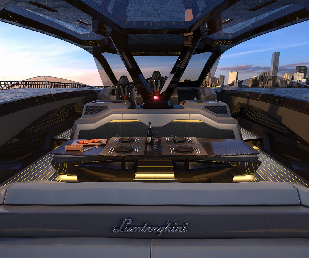 Tecnomar for Lamborghini 63, speedboot, 4000 pk, 1