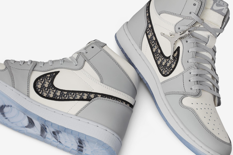 dior air jordan 1, nike, sneakers