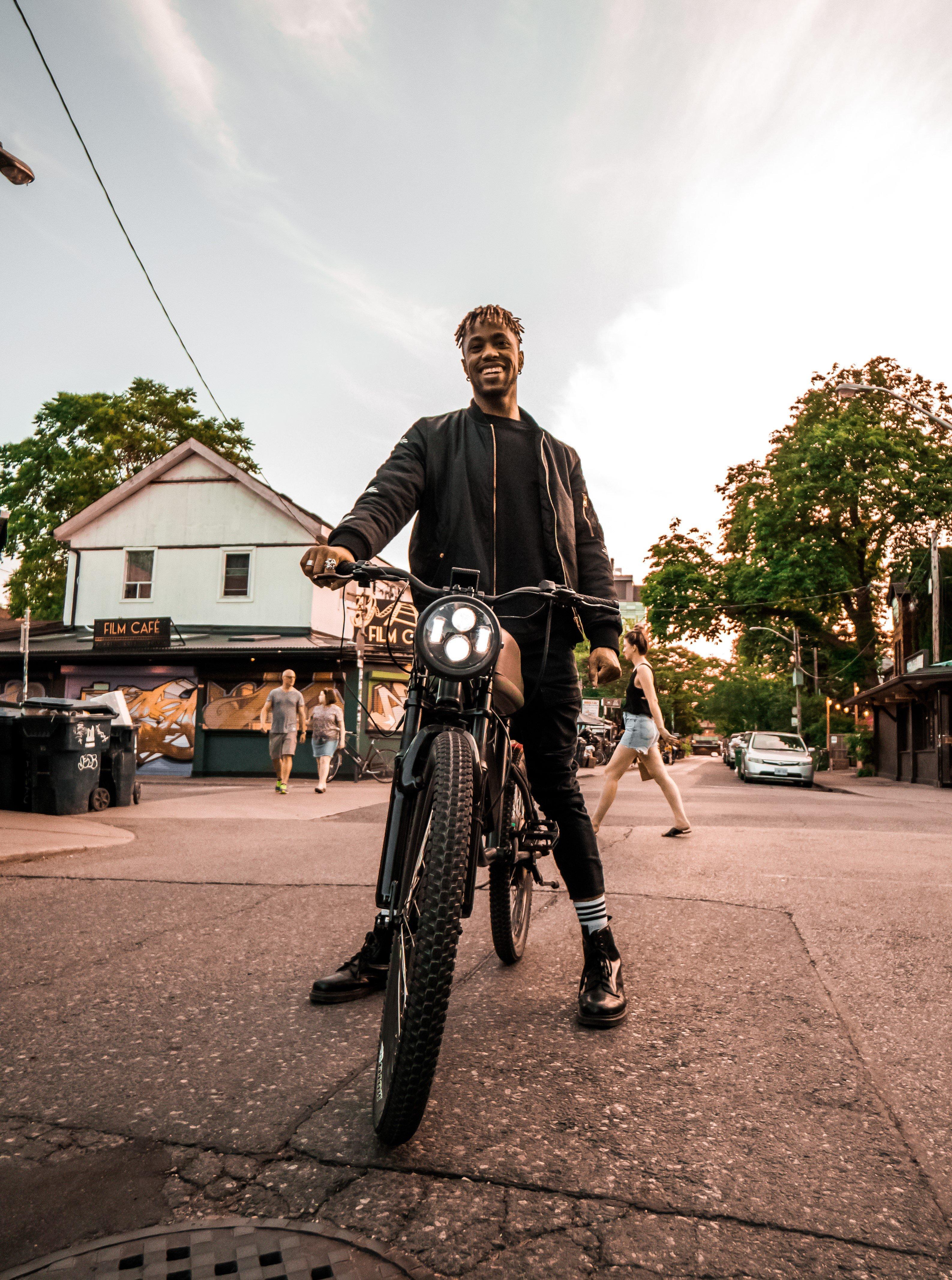 elektrische fiets, e-bike, titan r2, retro brommer, lifestyle