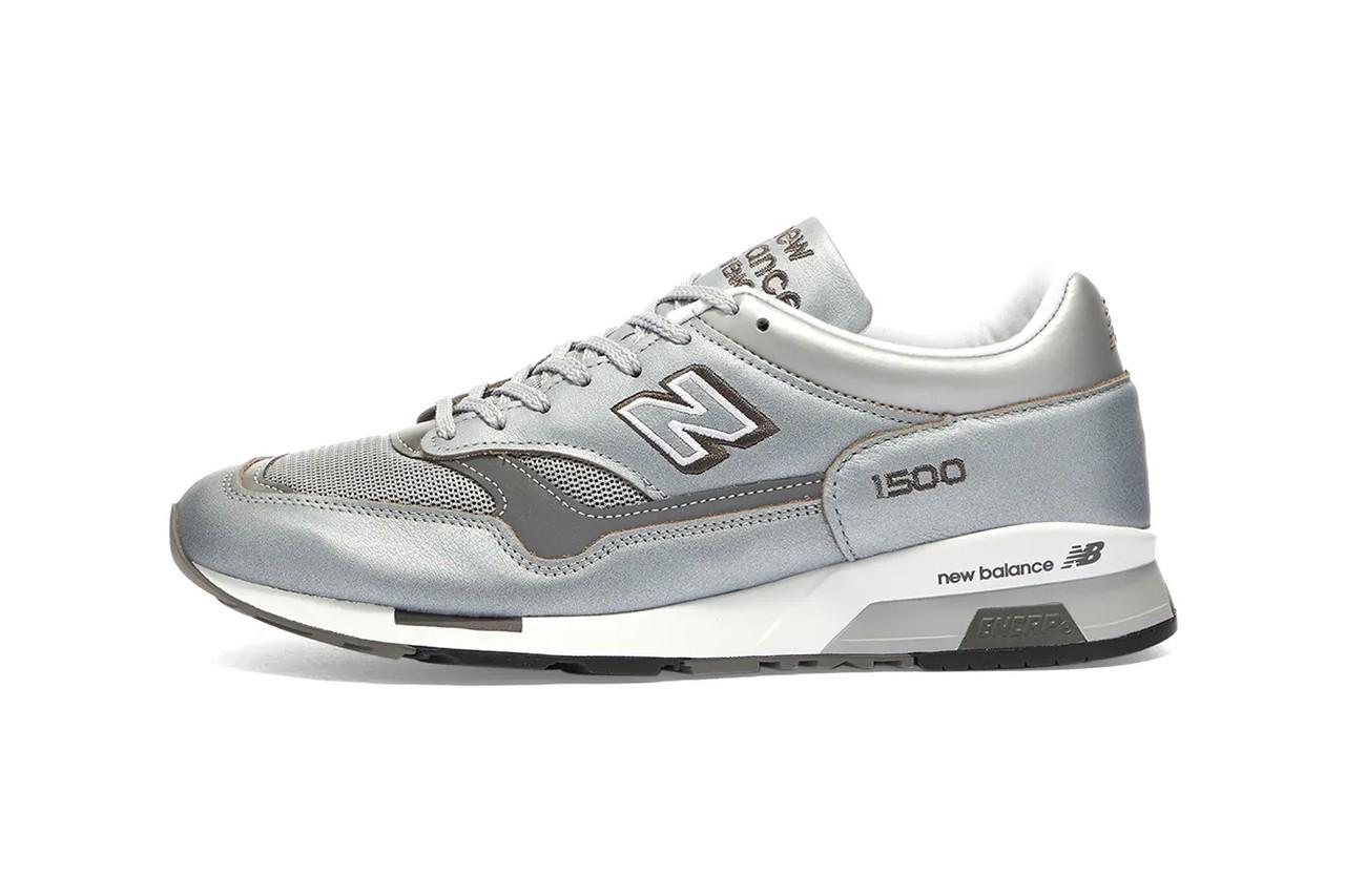 new balance made un uk 1500, silver metallic