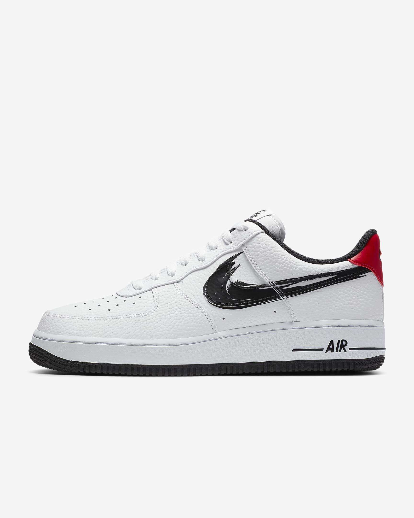 nike air force 1 getekende swoosh, sneakers, week 31