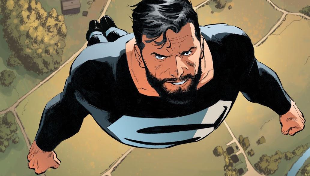 superman, zwart pak, betekenis, justice league