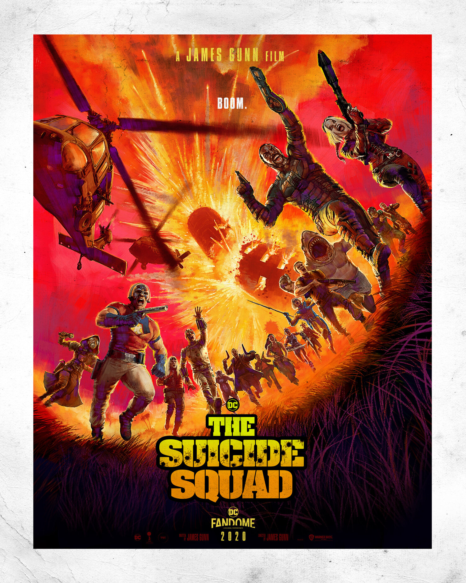 The Suicide Squad cast trailer