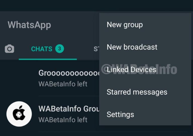 WhatsApp vier apparaten