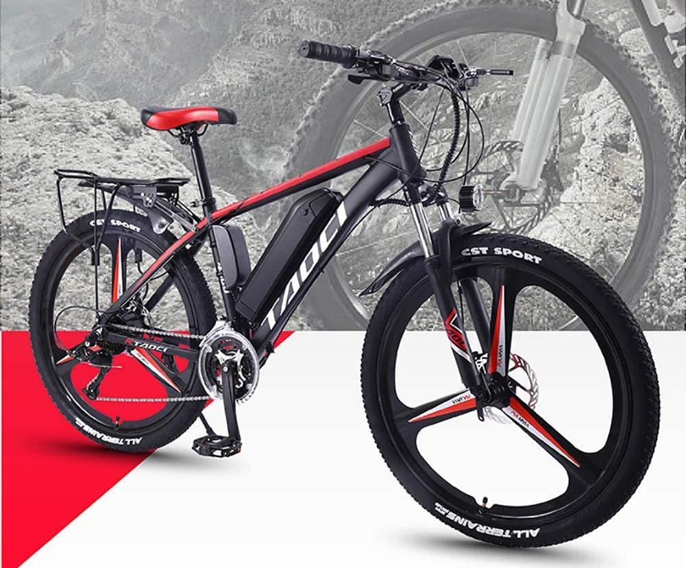 elektrische mountainbike, amazon, e-bike, atb, elektrische fiets
