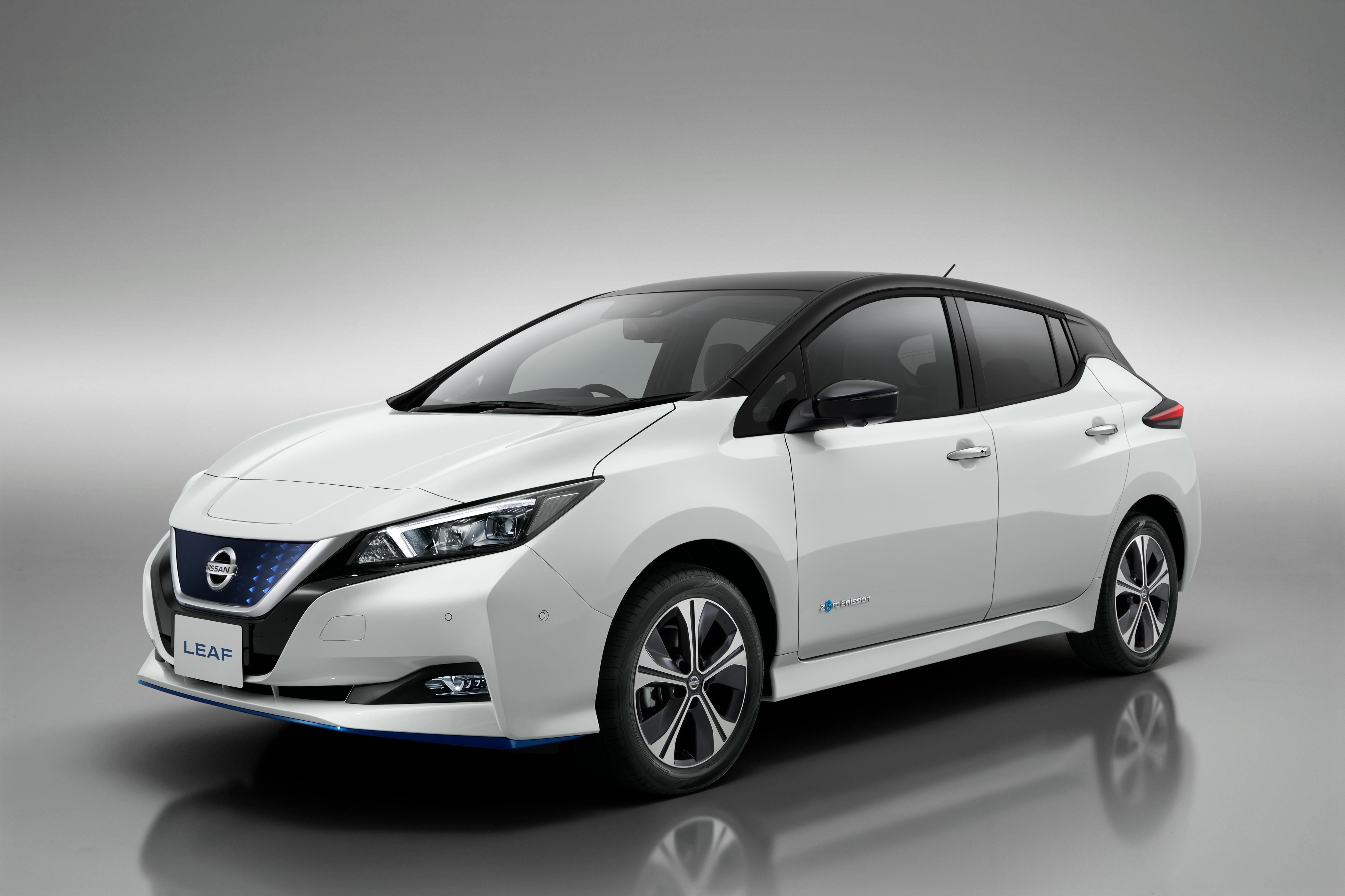 Nissan Leaf elektrische auto range