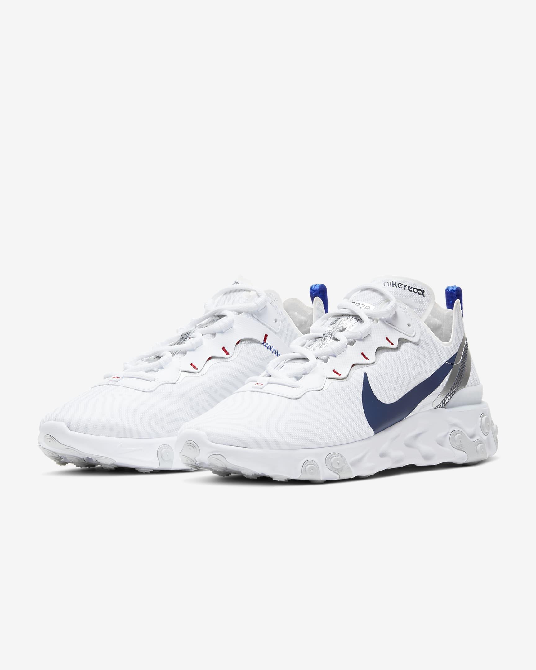 react-element-55, sneakers, nike, korting, sale