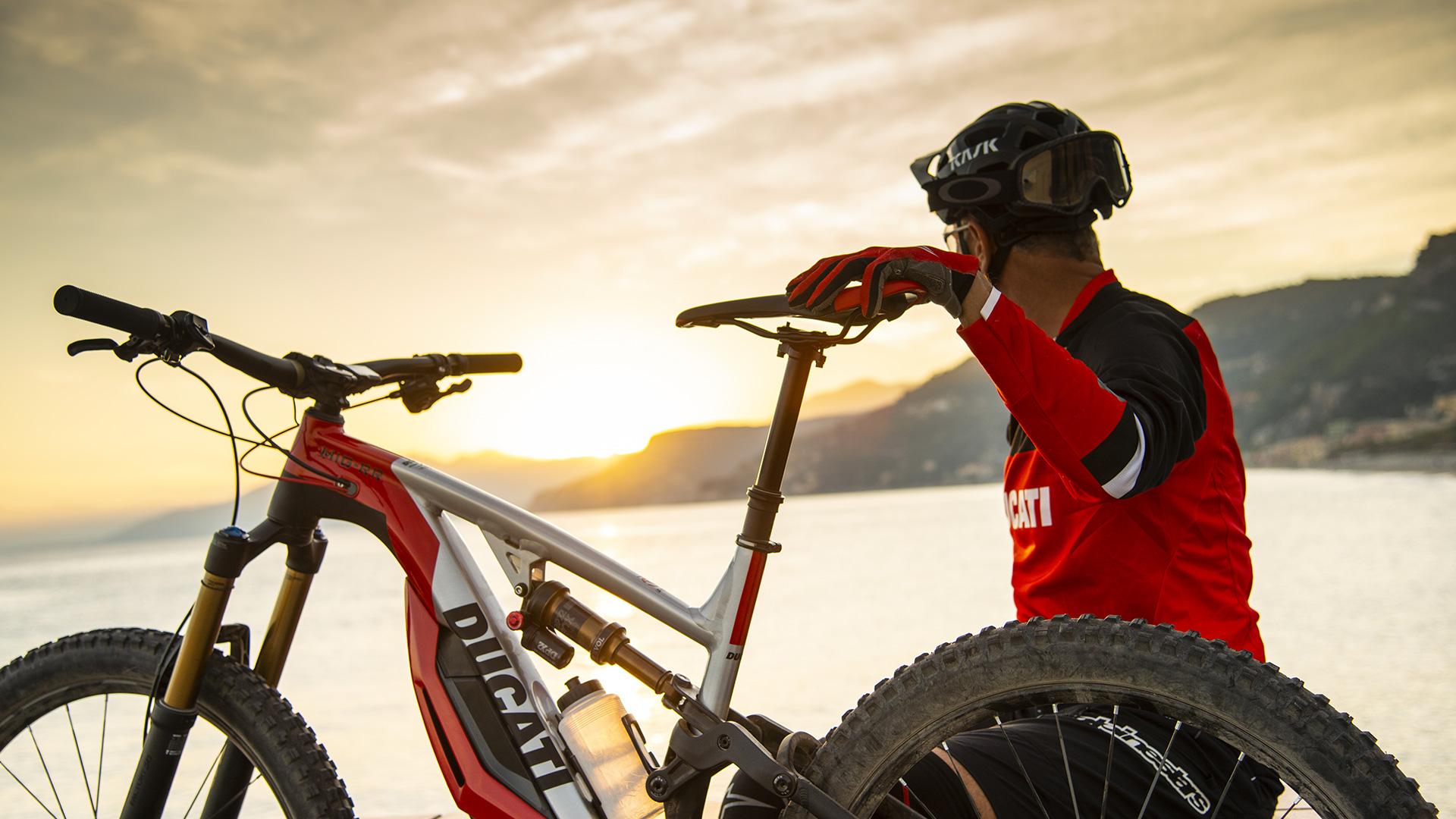 elektrische fiets, elektrische mountainbike, e-bike, ducati mig-rr