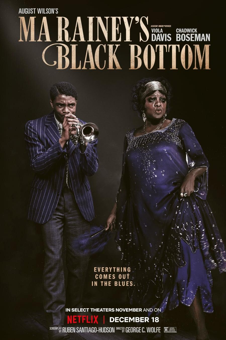 Ma Rainey's Black Bottom Netflix Chadwick Boseman trailer