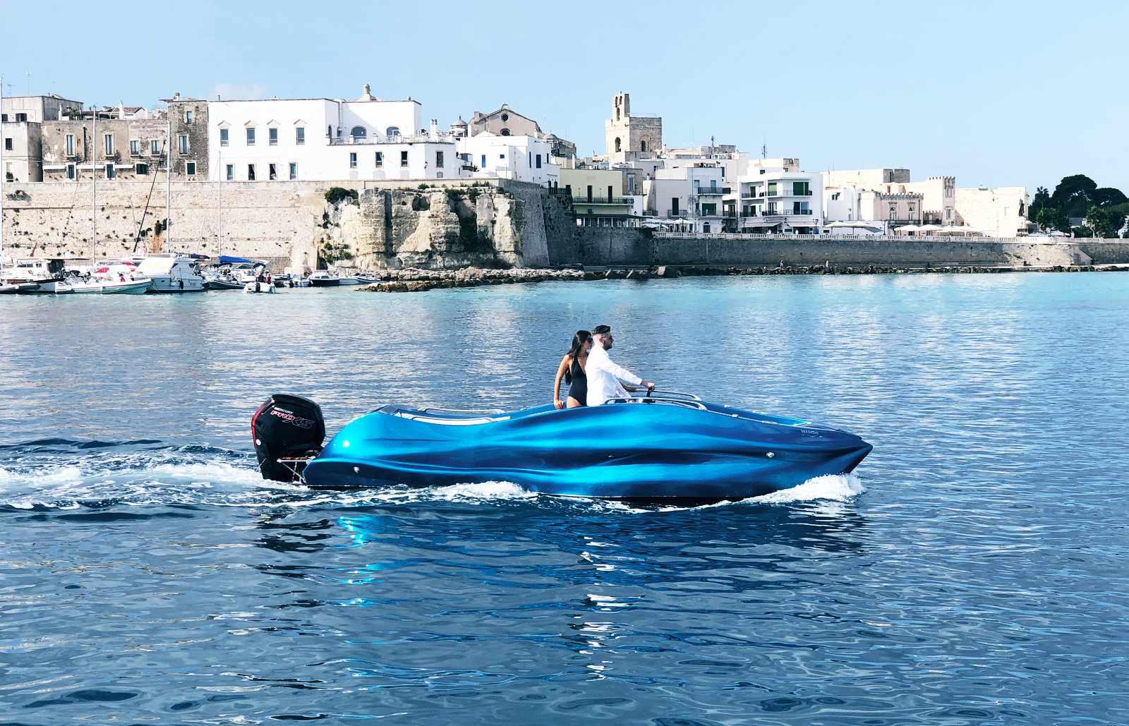 werelds eerste 3D-geprinte boot, moi mambo, speedboot, geneva boat show 2020