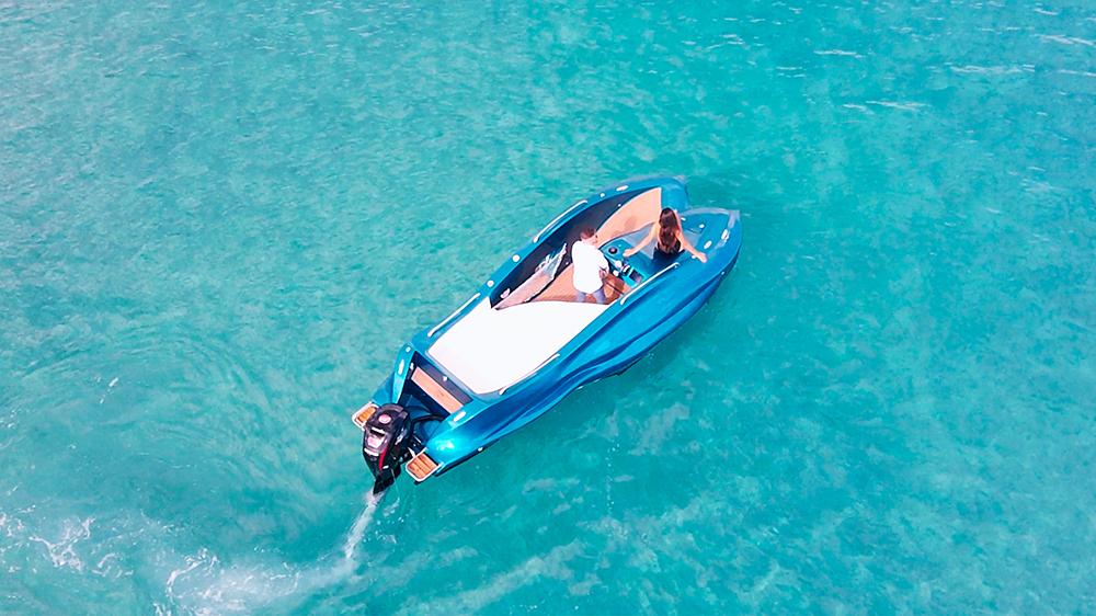 moi mambo, speedboot, 3d-geprinte boot, geneva boat show 2020